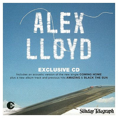 Alex Lloyd - Sunday Telegraph Exclusive CD