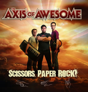 Axis Of Awesome - Scissors, Paper, Rock!