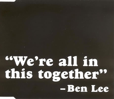 Ben Lee - We're All In This Together